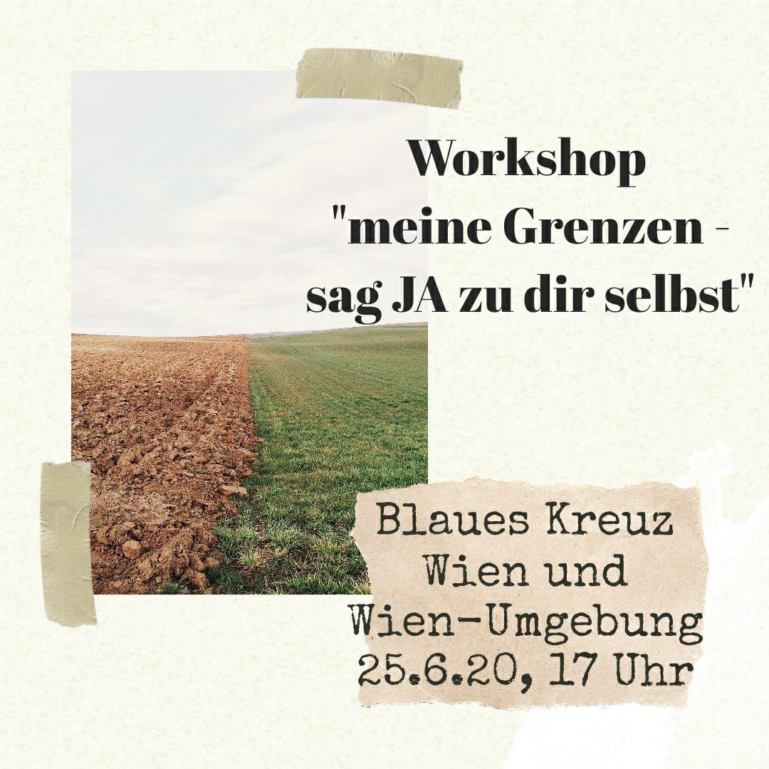 Flyer Workshop meine Grenzen